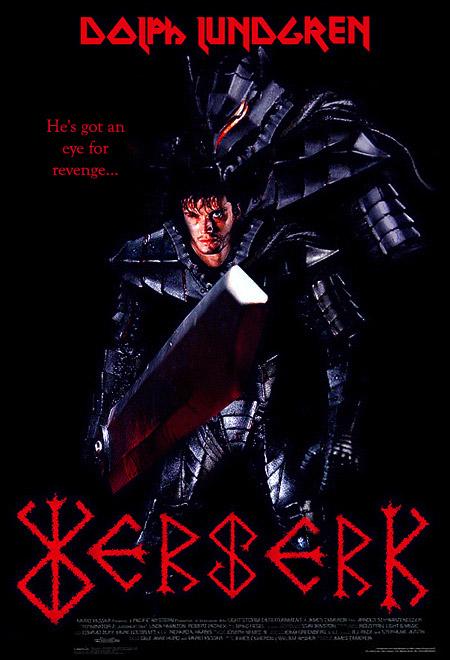 BERSERK Movie Posters
