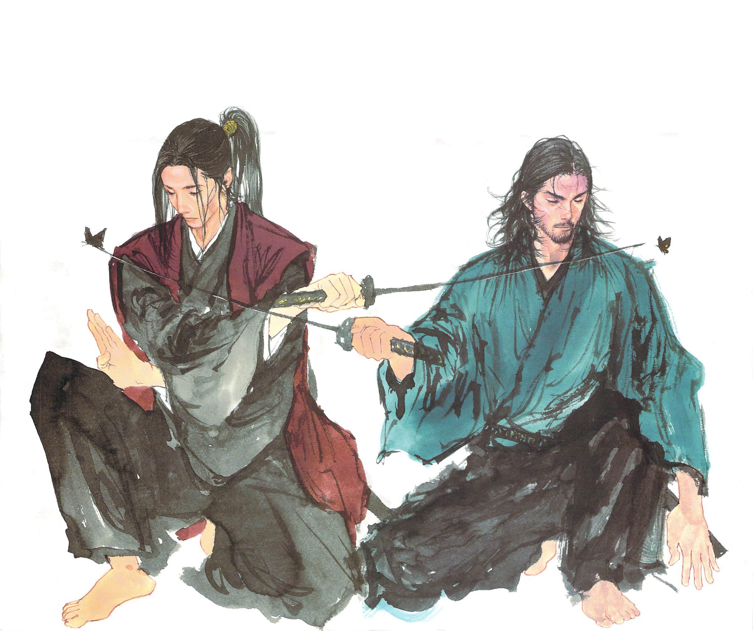 Vagabond Vs Shishido Baiken By Takehiko Inoue T